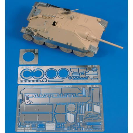 "Hetzer 38t ""Middle production"" (1/48)"