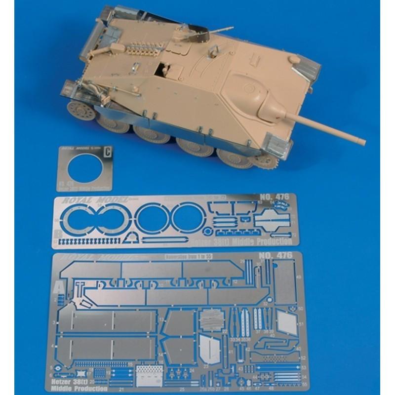 """Hetzer 38t """"Middle production"""" (1/48)"""