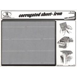 Corrugated sheet-iron