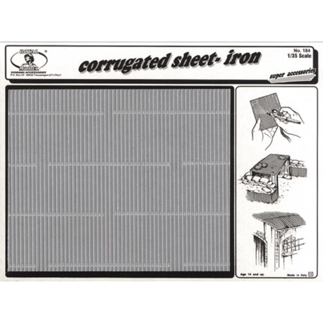 Corrugated sheet-iron