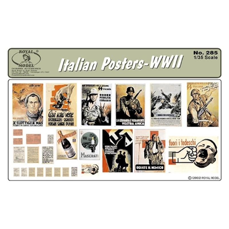 Italian Posters-WWII