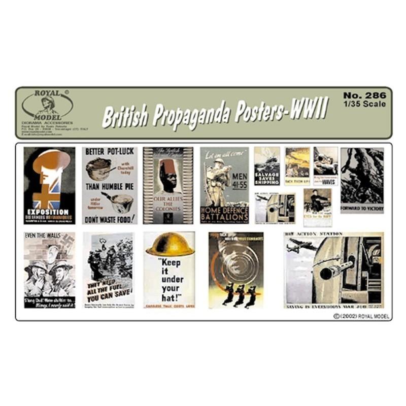 British Propaganda Posters-WWII