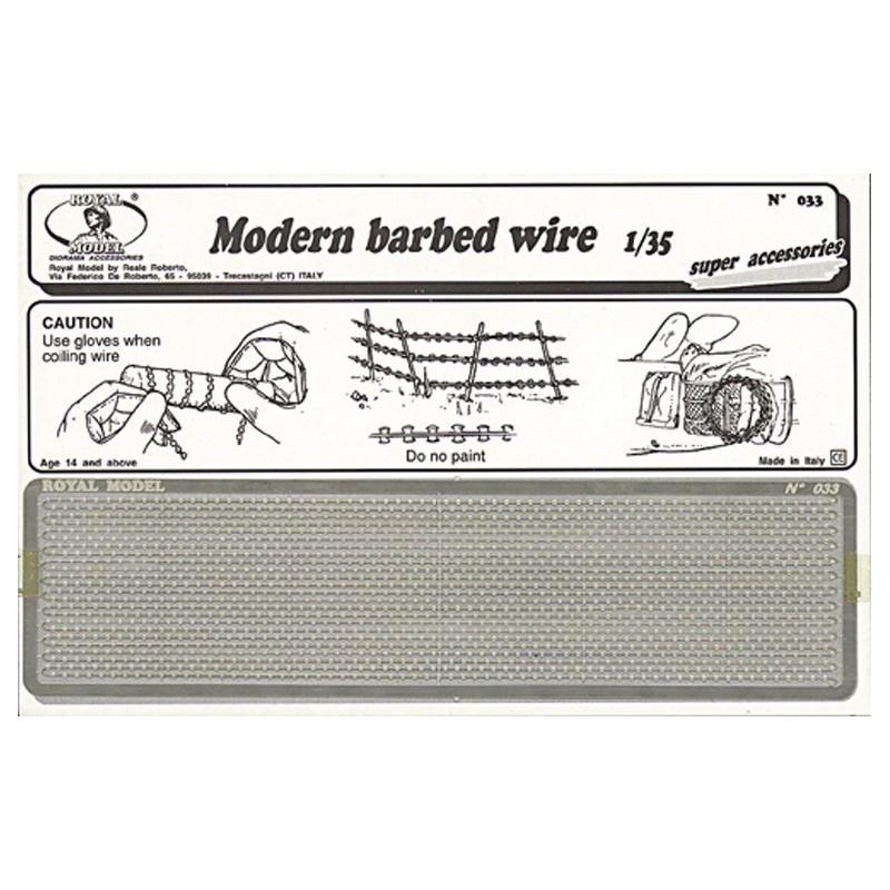 Modern babed wire (1/35)