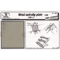Metal anti - slip plate n.1 (1/35)