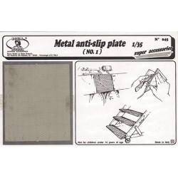 Metal anti - slip plate n.1 (1/35)