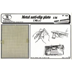 Metal anti - slip plate n.2 (1/35)