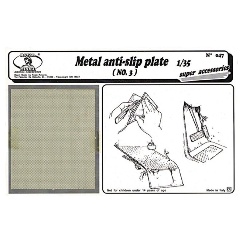 Metal anti - slip plate n.3 (1/35)