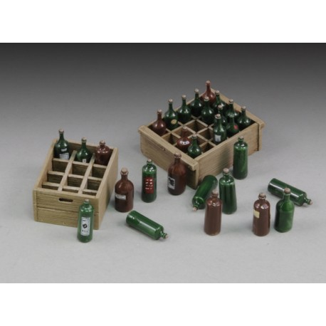 Wine bottles and crates (1/35)