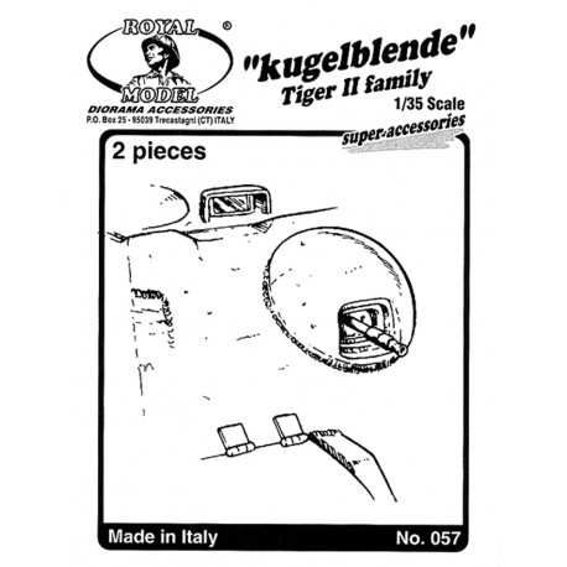 "Kugelblende ""Tiger II family"" (1/35)"