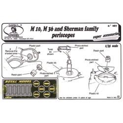Sherman family periscopes (1/35)
