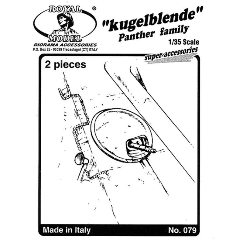 """Kugelblende """"Panter family"""" (1/35 )"""