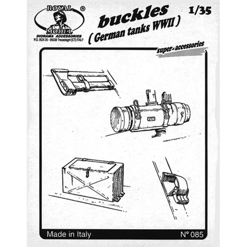 """Buckles """"German tank"""" (1/35)"""