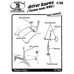 "Driver knows ""German tanks"" (1/35)"