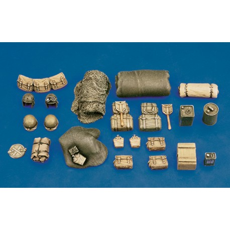 U.S. tank equipment - WWII (1/35)