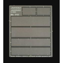 Sd. 251 C/D Interior Armour Plates (1/35)