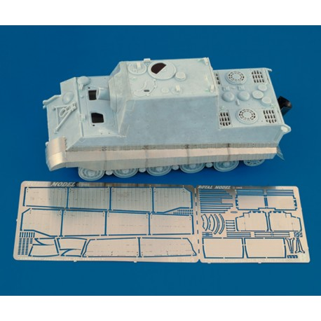"Fenders with Zimmerit ""Jagdtiger"" (1/35)"
