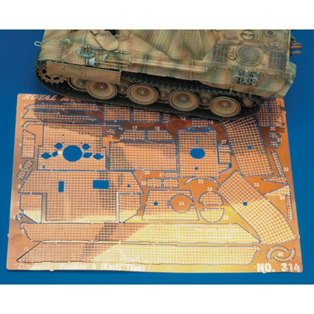 """Zimmerit """"Panther A Early Type"""" (1/35)"""