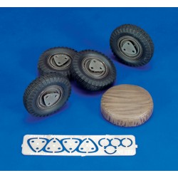 Sd.Kfz. 222 Wheels (1/35)