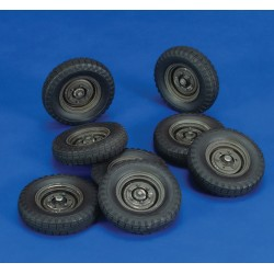 Wheels Krupp Protze Wheels (1/35)