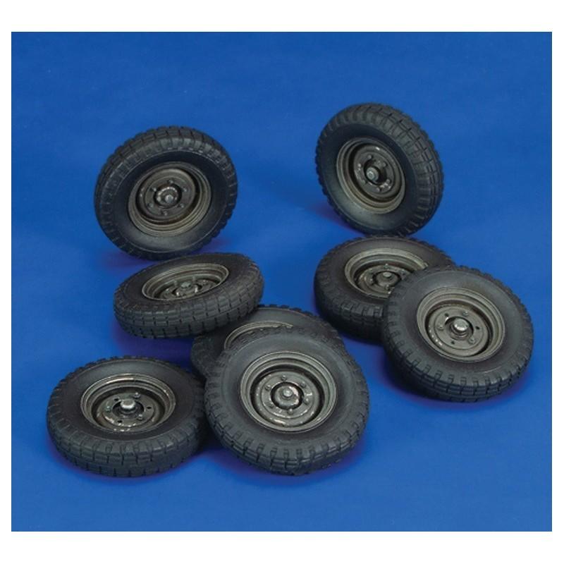 Wheels Krupp Protze Wheels (1/35)