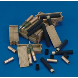 105 mm Ammo with Cases (1/35)