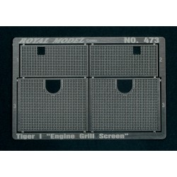 "Engine Grill Screen ""Tiger I""(1/35)"