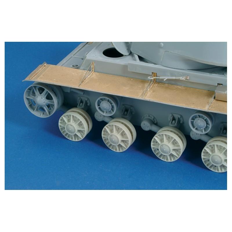 """Wheels """"KVI/KV85 - KV18 - SU152"""" (1/35)"""