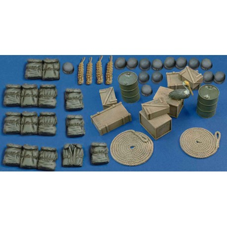 Elco 80' & harbour accessories - WWII (1/35)