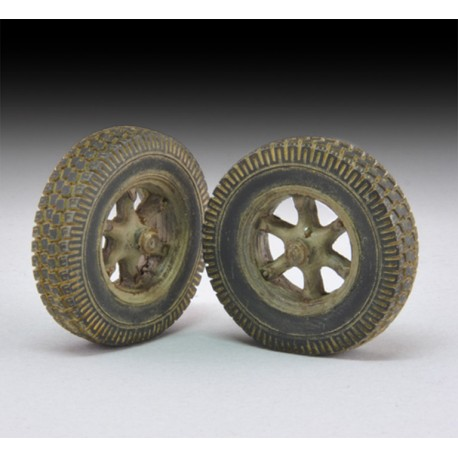 "Sagged Wheels ""Sd. Kfz. 7"" (1/35)"