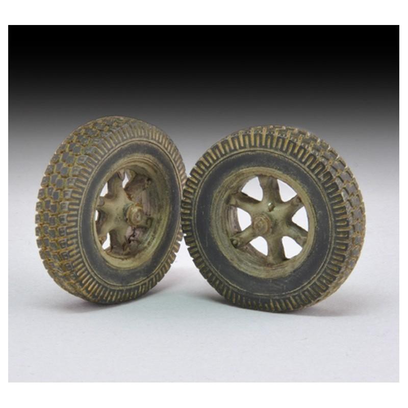 """Sagged Wheels """"Sd. Kfz. 7"""" (1/35)"""