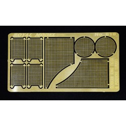 "Engine grill screen ""Tiger II"" (1/35)"