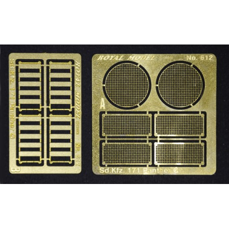 "Engine grill screen ""Pantehr G"" (1/35)"