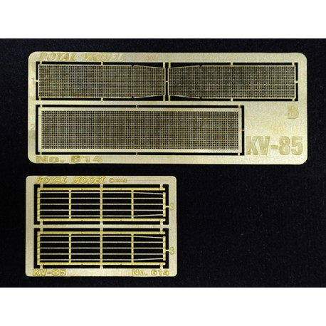 "Engine grill screen ""KV 85"" (1/35)"