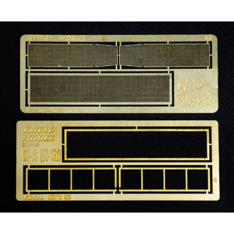 "Engine grill screen ""KV 14-SU-152"" (1/35)"