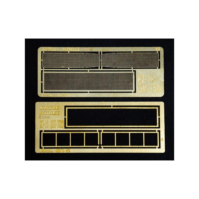 """Engine grill screen """"KV 14-SU-152"""" (1/35)"""
