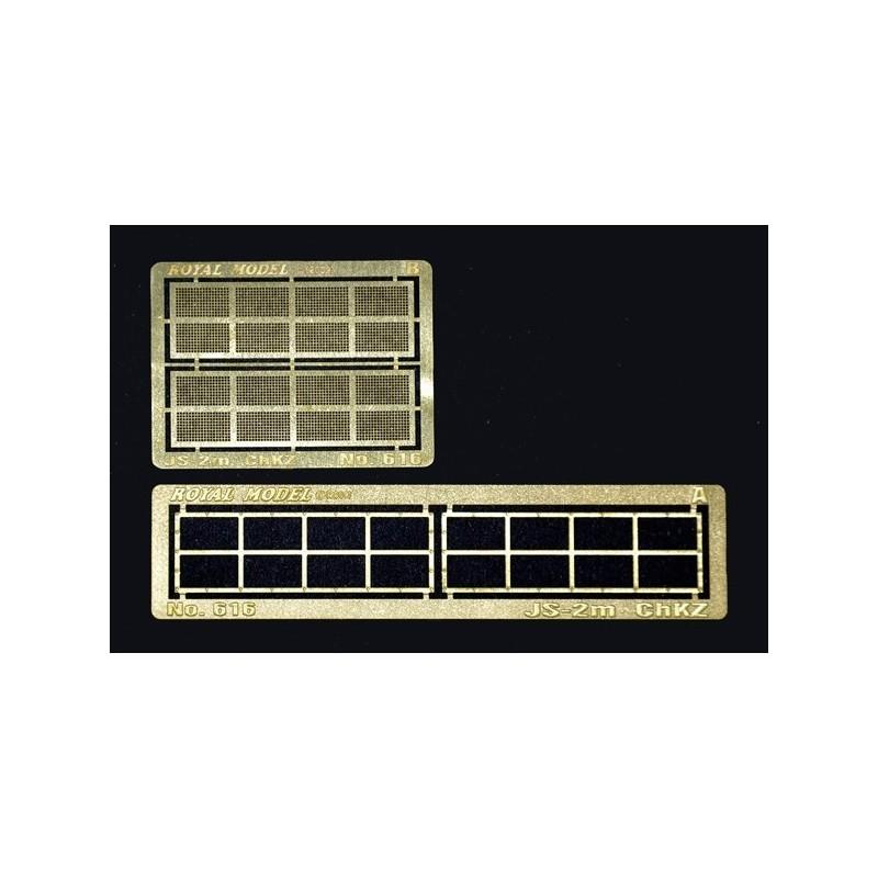 """Engine grill screen""""  JS-2m ChKZ"""" (1/35)"""