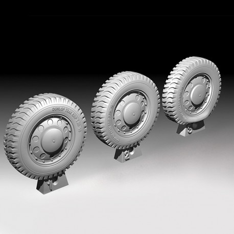 Dingo Sagged Wheels (1/35)