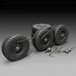 DUKW Sagged Wheels (1/35)