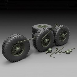 DUKW Sagged Wheels (1/35)