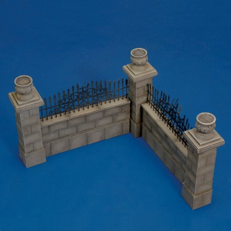 Park wall (1/35 Scale)