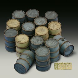 German oil drums - WWII (1/35)