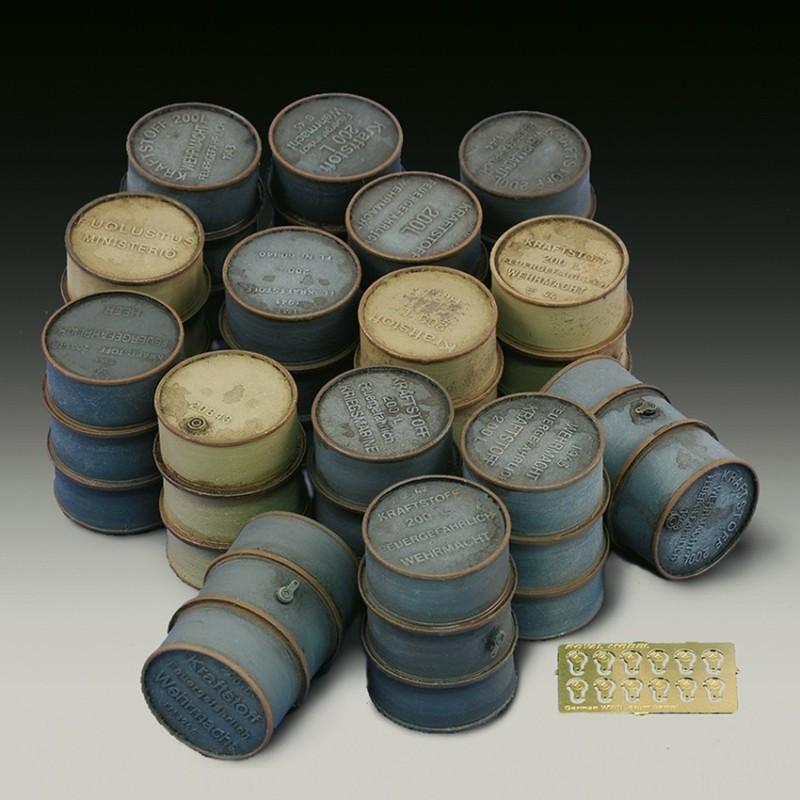 German oil drums - WWII (1/35)