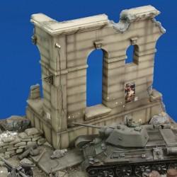 Russia monument ruin  (1/35 Scale)