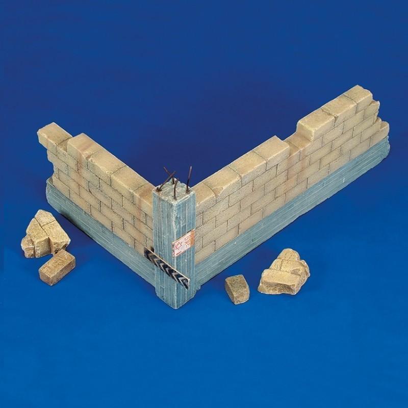 Israeli wall corner (1/35 Scale)
