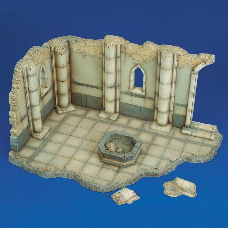 Israelian villa ruin (1/35 Scale)