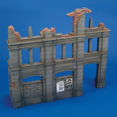 German Building Ruin (1/35 Scale)