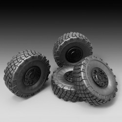 LMV LINCE sagged wheels  (1/35)