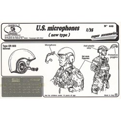"""U.S. Microphones """"new type"""" (1/35)"""
