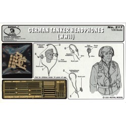 German tanker head phones - WWII (1/35)