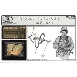 German weapons - MP40/1 (1/35)